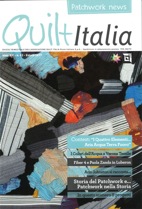 Acqua E Aria Rivista.Quilt Italia Article Ann Johnston